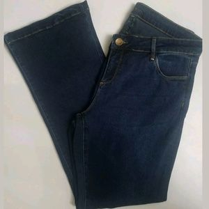 KUT from the Kloth Jean's Chrissy Flare 14W